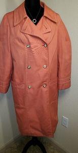 Vintage 1960's London Fog Caribe Cloth Trench Coat